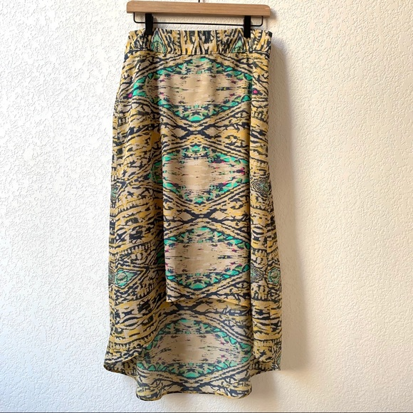The Limited Dresses & Skirts - The Limited Asymmetrical Patterned Skirt Medium